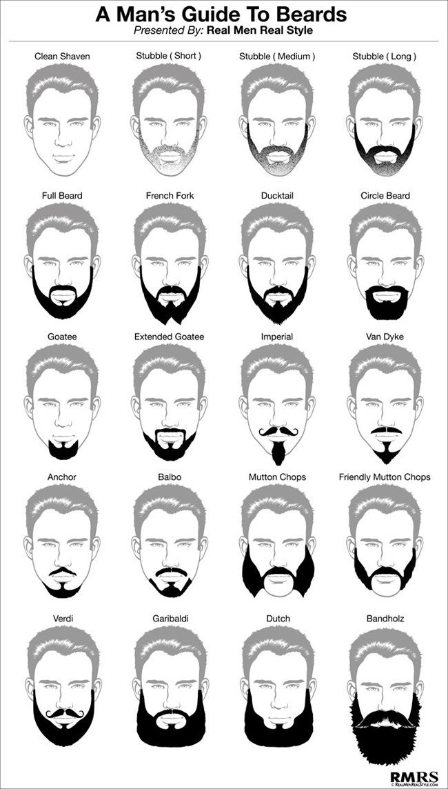 a mans guide to beards - Beard Design Ideas