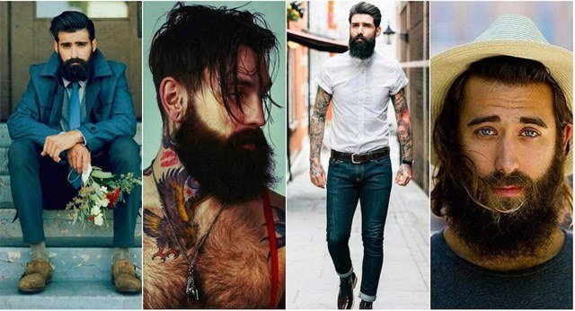 Beard Styles Over the Past 16 Decades