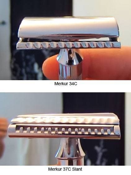 Merkur 34C vs 37C Head